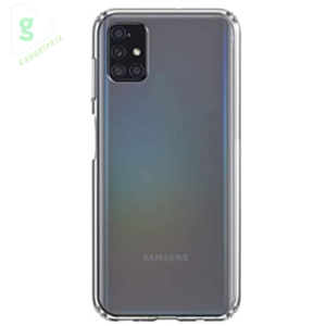 Samsung Galaxy M51 Transparent Mobile Cover - Amazon Brand Solimo