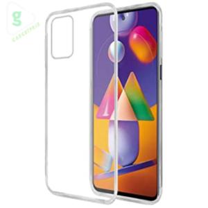 Samsung Galaxy M31s Transparent Mobile Cover